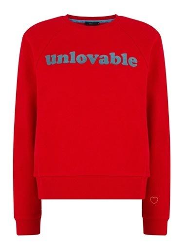 Xint Sweatshirt Kırmızı